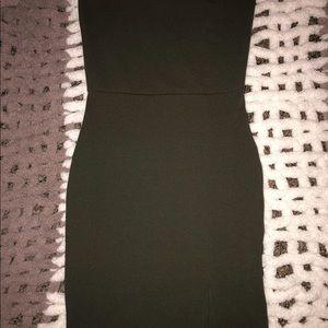Tube top mini dress